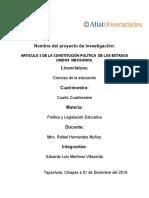 ARTICULO 3 DE LA CONSTITUCIÓN POLÍTICA  DE LOS ESTADOS UNIDOS  MEXICANOS 2.docx