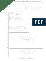 Transcript 3 19 20 - Judge Carter/County of Los Angeles & Homelessness