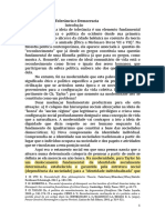 Manfredo Oliveira - Tolerancia e Democracia