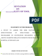 RELIABILITY OF TOOL.pptx
