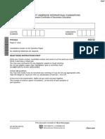 November 2011 (v2) QP - Paper 2 CIE Physics IGCSE