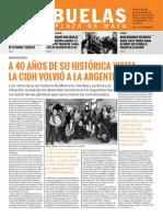 Mensuario 185 de Abuelas de Plaza de Mayo- Sept 2019 Argentina