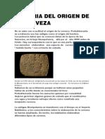 HISTORIA DEL ORIGEN DE LA CERVEZA.docx