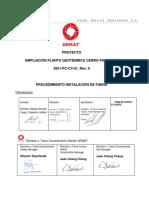 3831- PC-CV-01 PROCEDIMIENTO  INSTALACION  DE  FAENA Rev.0