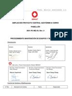 3831-PC-ME-03  PROCEDIMIENTO MANTENCION DE EQUIPOS Y MAQUINARIAS Rev.0.pdf