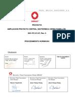 3831-PC-CV-07 PROCEDIMIENTO HORMIGON, Rev.0.pdf