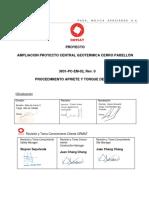3831-PC-EM-02 PROCEDIMIENTO DE APRIETE Y TORQUE DE PERNOS Rev.0.pdf