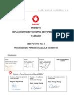 3831-PC-CV-05 PROCEDIMIENTO PERNOS DE ANCLAJE E INSERTOS Rev.0.pdf