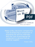 make &buy