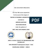 impex-Operations-Internship-Report