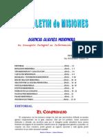 BOLETIN DE MISIONES 29-11-10
