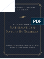A Synthesis Paper on Mathematics and Nature by Numbers