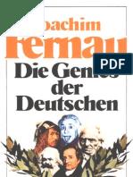 Joachim Fernau_Die Genies Der Deutschen
