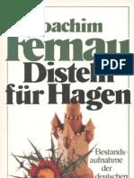 Joachim Fernau_Disteln für Hagen