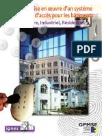 Guide de mise en œuvre d'un système de contrôle d'accès pour les bâtiments