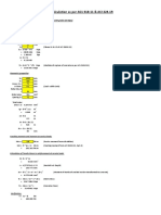 Crack width as per ACI 318 - Spreadsheet