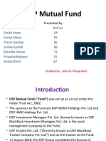 DSP Mutual Fund ppt.