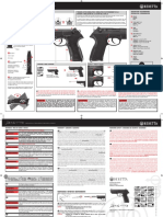 Manual Beretta Px4 Storm 2274020 2274021 Spring 02R11