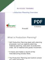 production planningP IHT
