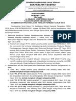 1. PENGUMUMAN HASIL SKD CPNS Prov. JATENG TAHUN 2019(1)