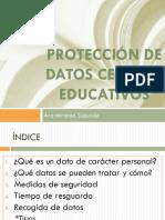 Protección de Datos Centros Educativos