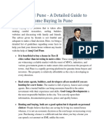Anuj Goel Pune - A Detailed Guide to Home Buying in Pune