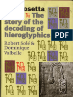 The Rosetta Stone. The Story of the Decoding of Hieroglyphics