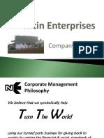 Nitin Enterprises-Company Profile(General)