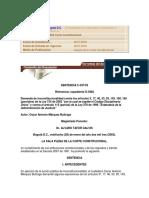 Sentencia C-037 de 2003