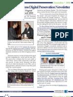 The December 2010 Library of Congress Digital Preservation Newsletter