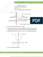 Math Study Guide - Quadratic Functions