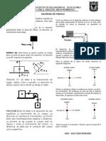 DIAGRAMA DE FUERZAS solucion