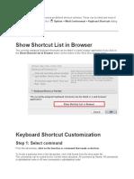 Shortcut Archicad