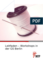 Workshops in der GS Berlin