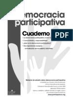 Democracia Participativa y Representativa