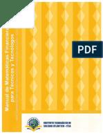 MANUAL-GUÍA DE MATEMÁTICAS FINANCIERAS. PROBLEMAS RESUELTOS. ITSA.pdf