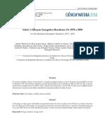 Sobre a Situação Energética Brasileira de 1970 a 2030