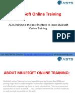 MuleSoft Online Training - ASTSTraining