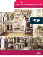 Closet Maid Project Planner