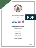 Adani Report Newew