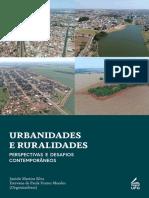 Ebook Urbanidades e ruralidades