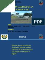 SISTEMA ELECTRICO DE LA AERONAVE A-152