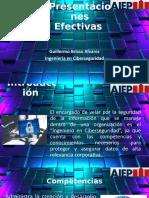Presentaciones Efectivas - Guillermo Brisso - Ingenieria en Ciberseguridad 2100