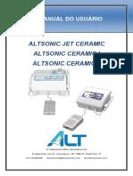 ALTSONIC JET CERAMIC ALTSONIC CERAMIC I ALTSONIC CERAMIC II