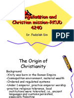 Evangelization and Christian Mision1-RKUD 4240