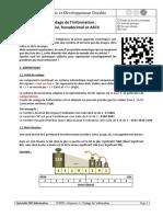 Codage de l'Information - Binaire, Hexadécimal Et ASCII