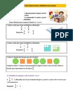 Exercicios resolvidos (números racionais)