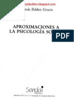 Tomas Ibañez Gracia - Aproximaciones A La Psicologia Social