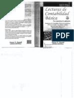 Lecturas de Contabilidad Básica. Ejercicios de Aplicación