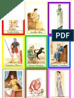 Vestigium - cartas